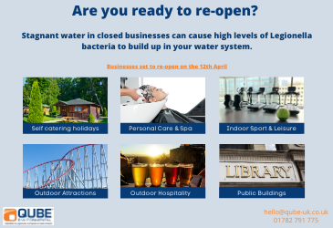 Re-opening on the 12th April? Are you Legionella complaint?