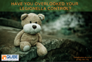 Have you overlooked your legionella control? Call Qube
