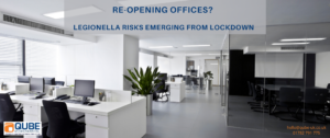 Assess your legionella risks when reopening after Covid