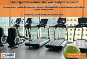 Sport and Leisure - have you checked for legionella?